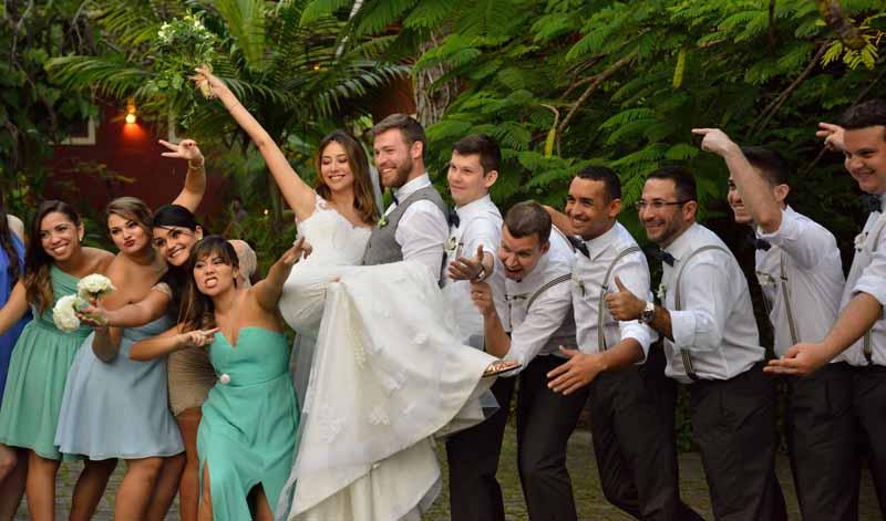 Casamento Melissa e Schaun - Fernando Tomanik | Espaço Viela da Praia